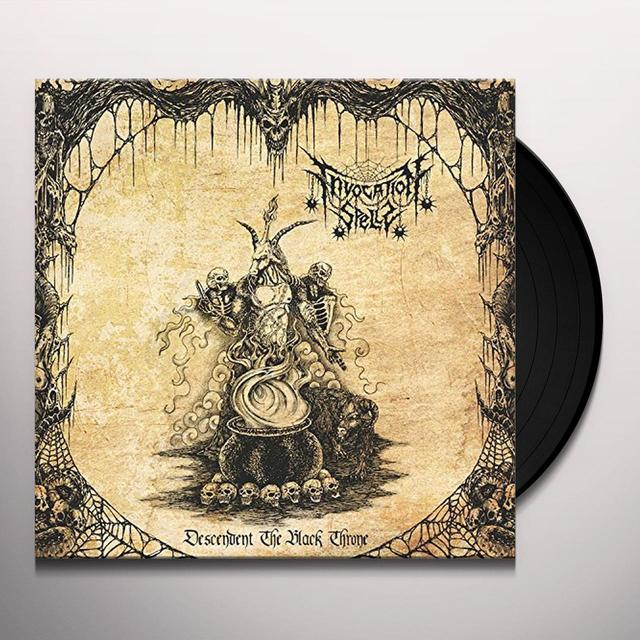 INVOCATION SPELLS DESCENDENT THE BLACK THRONE Vinyl Record