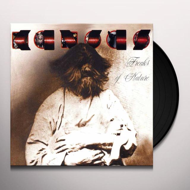 Kansas FREAK OF NATURE Vinyl Record