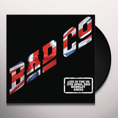 Bad Company LIVE IN THE UK 2010 Vinyl Record - Gatefold Sleeve