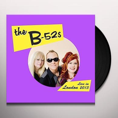 B-52's LIVE IN THE UK 2013 Vinyl Record - Gatefold Sleeve