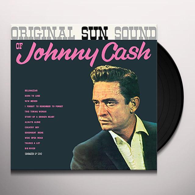 Johnny Cash ORIGINAL SUN SOUND Vinyl Record