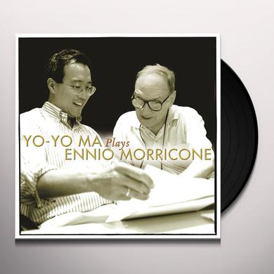 Yo-Yo Ma PLAYS ENNIO MORRICONE Vinyl Record - Gatefold Sleeve
