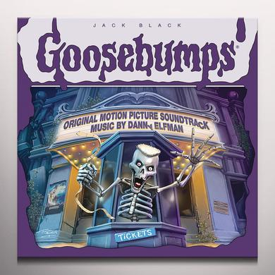 DANNY ELFMAN GOOSEBUMPS / O.S.T. (BONUS TRACKS) Vinyl Record - Green Vinyl