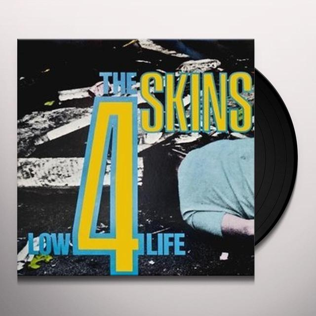 4 Skins LOW LIFE Vinyl Record - Italy Import