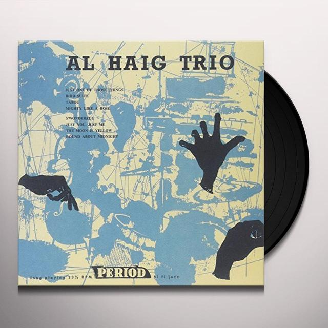 Al Haig Trio ON PERIOD Vinyl Record - Japan Import