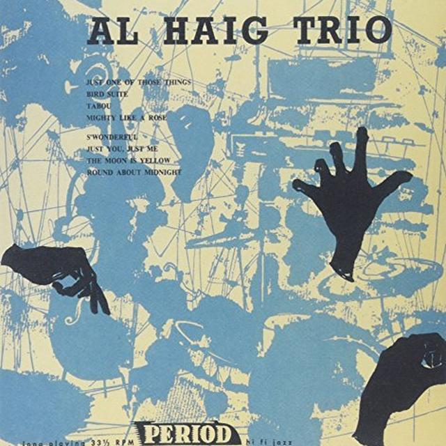 Al Haig Trio ON PERIOD Vinyl Record