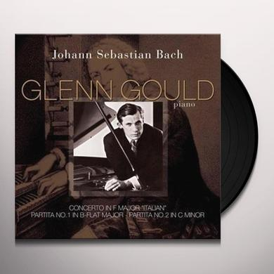 Johann Sebastian Bach CONCERTO IN F MAJOR ITALIAN / PARTITA A IN B-FLAT Vinyl Record