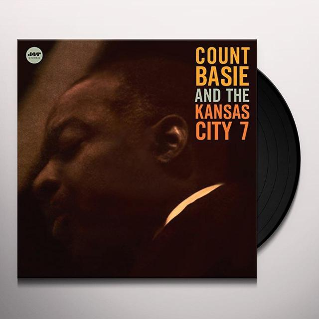 Count Basie KANSAS CITY 7 + 1 BONUS Vinyl Record - 180 Gram Pressing, Spain Import