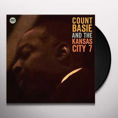 Count Basie KANSAS CITY 7 + 1 BONUS Vinyl Record