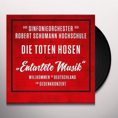 Die Toten Hosen ENTARTETE MUSIK-WILLKOMMEN IN DEUTSCHLAND Vinyl Record