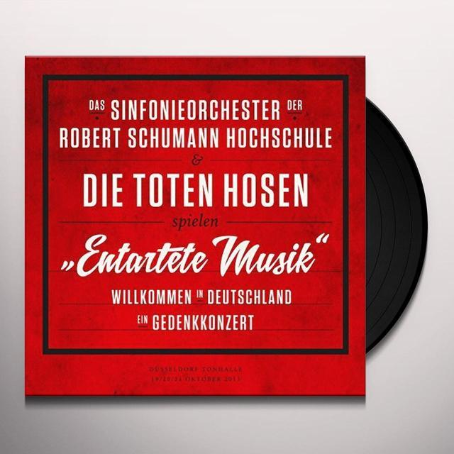 Die Toten Hosen ENTARTETE MUSIK-WILLKOMMEN IN DEUTSCHLAND (GER) Vinyl Record