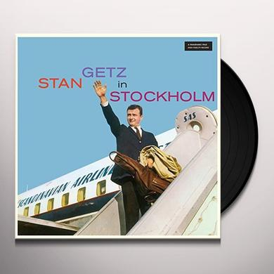 STAN GETZ IN STOCKHOLM Vinyl Record - 180 Gram Pressing, Spain Import