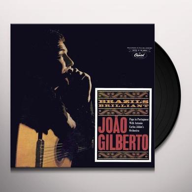 Joao Gilberto BRAZIL'S BRILLIANT + 3 BONUS TRACKS (BONUS TRACKS) Vinyl Record