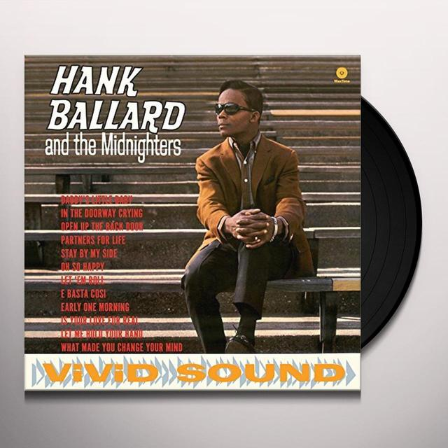 HANK BALLARD & THE MIDNIGHTERS Vinyl Record - UK Import