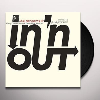 Joe Henderson IN N OUT Vinyl Record - 180 Gram Pressing, Spain Import