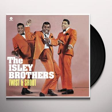 The Isley Brothers TWIST & SHOUT Vinyl Record - UK Import