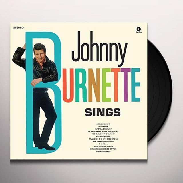 Johnny Burnette SINGS Vinyl Record - UK Import