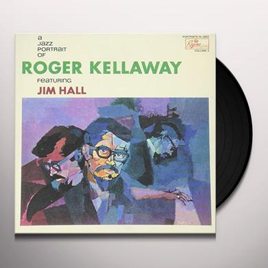Roger Kellaway JAZZ PORTRAIT OF Vinyl Record - Japan Import