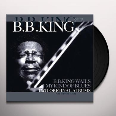 B.B. KING WAILS / MY KIND OF BLUES Vinyl Record - 180 Gram Pressing, Holland Import