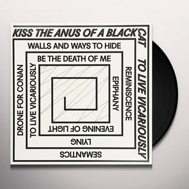 Kiss The Anus Of A Black Cat TO LIVE VICARIOUSLY Vinyl Record - Holland Import
