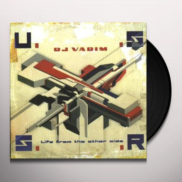 Dj Vadim USSR; LIFE FROM THE OTHER SIDE Vinyl Record - UK Release