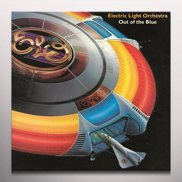 Elo ( Electric Light Orchestra ) OUT OF THE BLUE Vinyl Record - Clear Vinyl