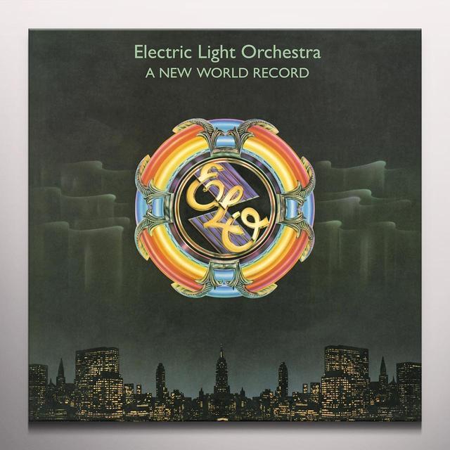 Elo ( Electric Light Orchestra ) NEW WORLD RECORD Vinyl Record - Clear Vinyl