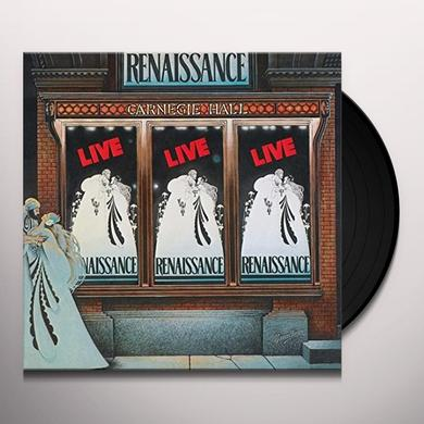 RENAISSANCE LIVE AT CARNEGIE HALL (GER) Vinyl Record
