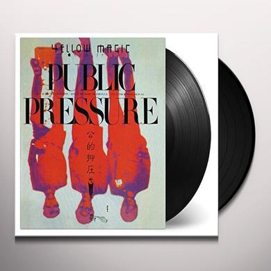 Yellow Magic Orchestra PUBLIC PRESSURE Vinyl Record - Holland Import