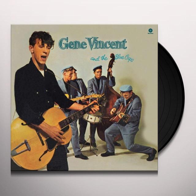 Gene Vincent & THE BLUE CAPS Vinyl Record - UK Import