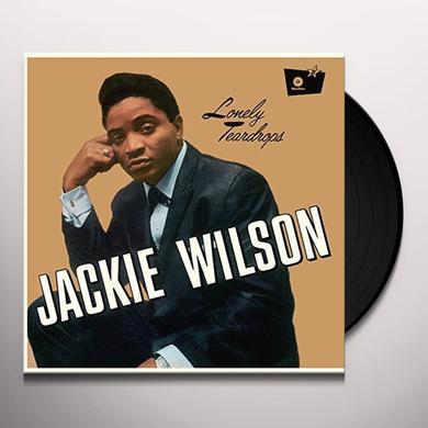 Jackie Wilson LONELY TEARDROPS Vinyl Record - UK Import