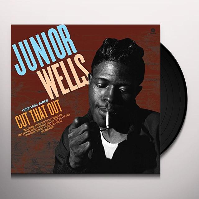 Junior Wells CUT THAT OUT Vinyl Record - UK Import