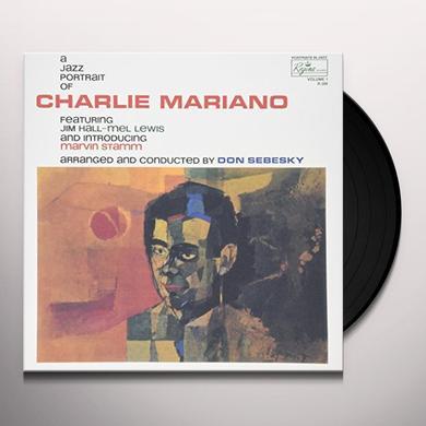 Charlie Mariano JAZZ PORTRAIT OF Vinyl Record - Japan Import