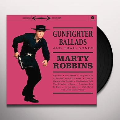 Marty Robbins GUNFIGHTER BALLADS & TRAIL SONGS Vinyl Record - UK Release