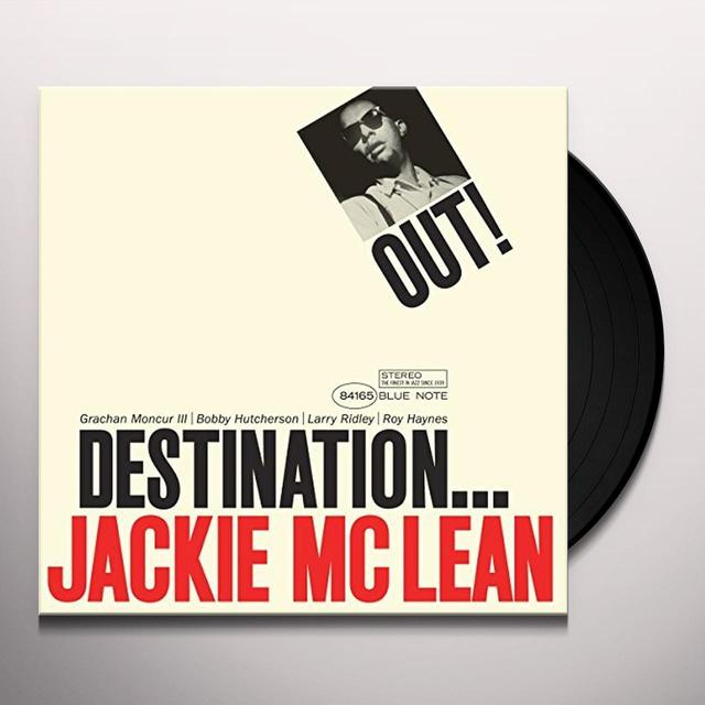 Jackie Mclean DESTINATION OUT Vinyl Record - 180 Gram Pressing, Spain Import