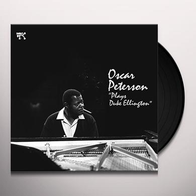 Oscar Peterson PLAYS DUKE ELLINGTON Vinyl Record