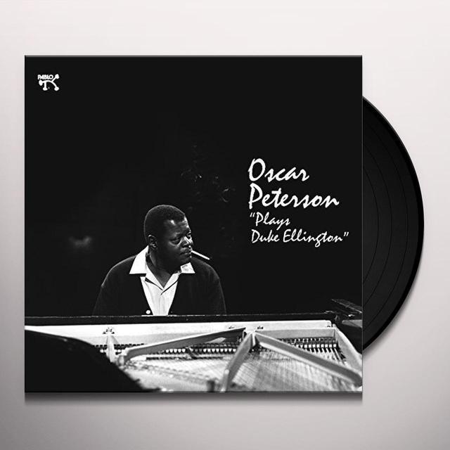 Oscar Peterson PLAYS DUKE ELLINGTON Vinyl Record - 180 Gram Pressing, Spain Import