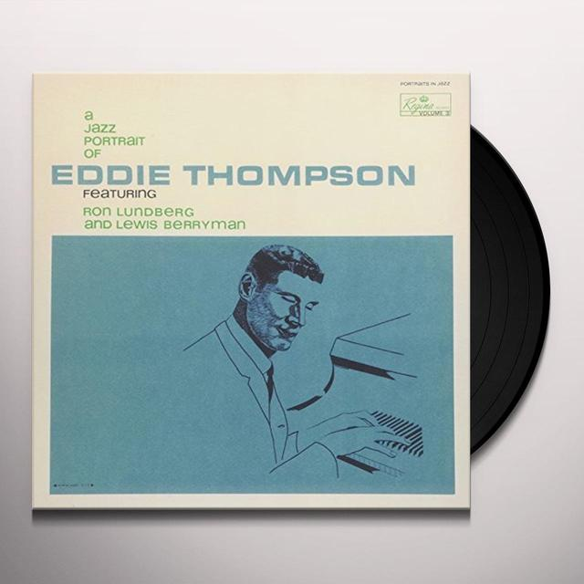 Eddie Thompson JAZZ PORTRAIT OF Vinyl Record - Japan Import