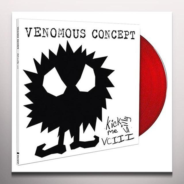 VENOMOUS CONCEPT KICK ME SILLY - VC III (RED VINYL) Vinyl Record - Colored Vinyl, Red Vinyl