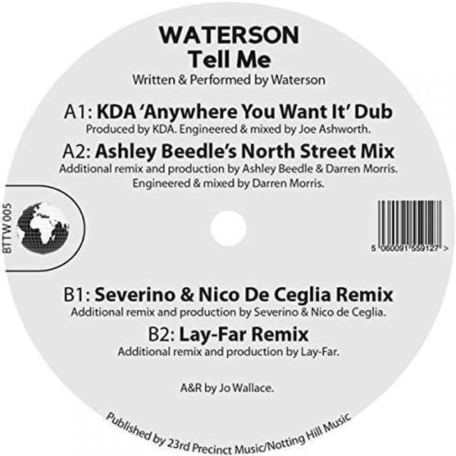WATERSON TELL ME Vinyl Record