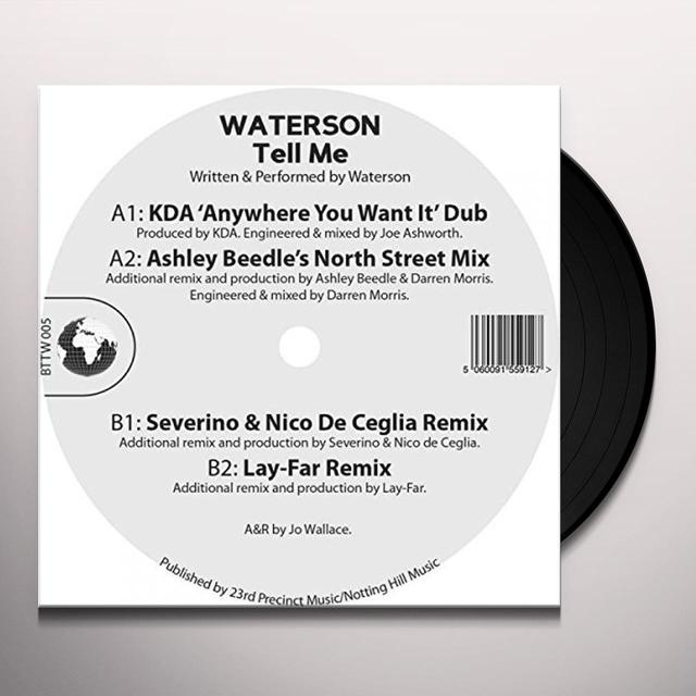 WATERSON TELL ME Vinyl Record - UK Import