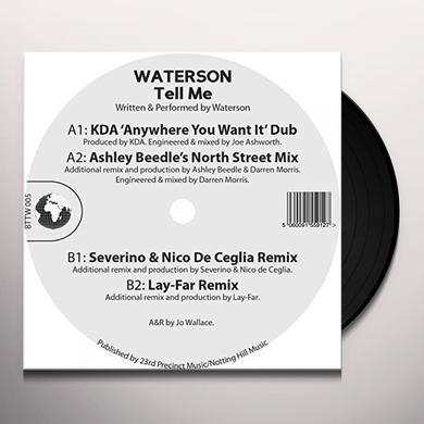 WATERSON TELL ME Vinyl Record - UK Import