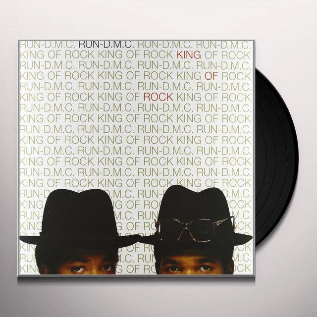 Run-Dmc KING OF ROCK Vinyl Record