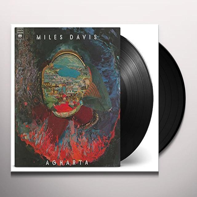 Miles Davis AGHARTA Vinyl Record - Holland Import