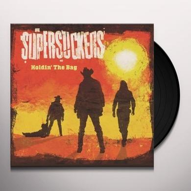 Supersuckers HOLDING THE BAG (LP+CD) Vinyl Record - w/CD, UK Release