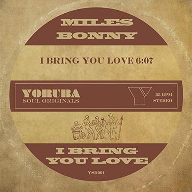 Miles Bonny BRING YOU LOVE Vinyl Record