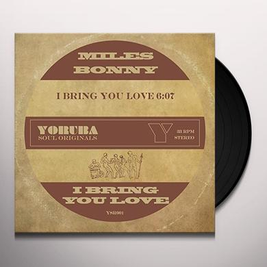 Miles Bonny BRING YOU LOVE Vinyl Record - UK Import