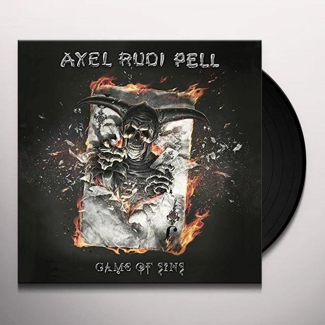 Axelrudi Pell GAME OF SINS (LTD 2LP+CD BOX SET) Vinyl Record - w/CD, Limited Edition