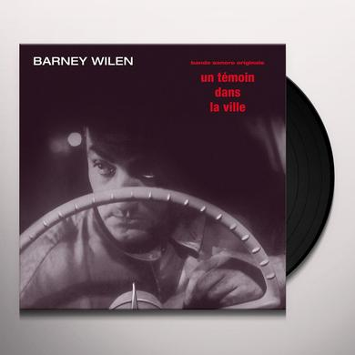 Barney Wilen UN TEMOIN DANS LA VILLE - O.S.T. Vinyl Record