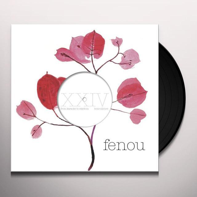 From Karaoke To Stardom BONE SILENCE Vinyl Record - 10 Inch Single